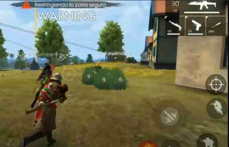 Wukong al convertirse en arbusto